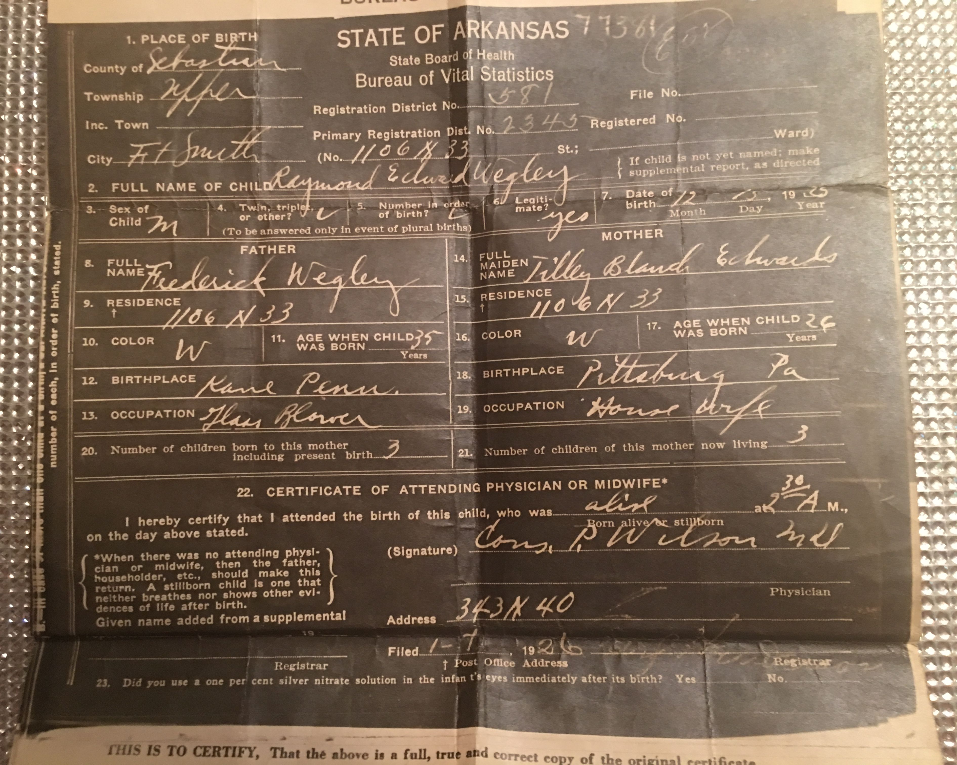 Beautiful collection of oklahoma city birth certificate business 1900 1999 tracy and family aiddatafo Choice Image