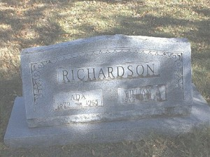 william alexander richards headstone